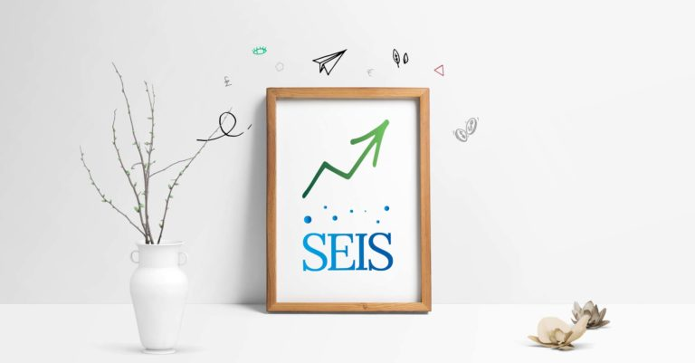 (SEIS) Seed Enterprise Investment Scheme Frame with Text